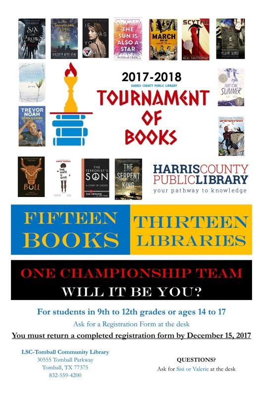 Tournament of Books Poster 2017-2018 TOM